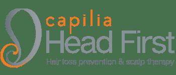 capilia head first logo