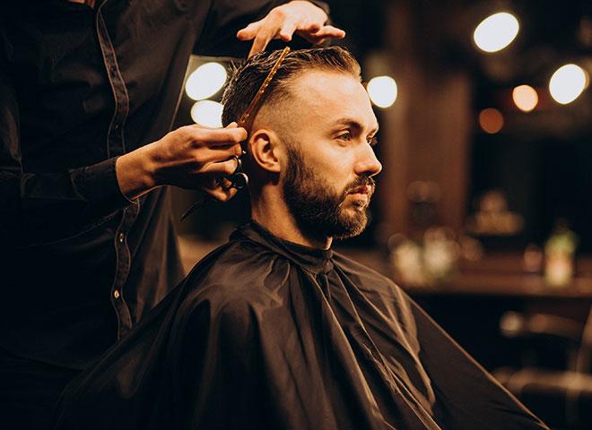 man-barbershop-trimming-hair