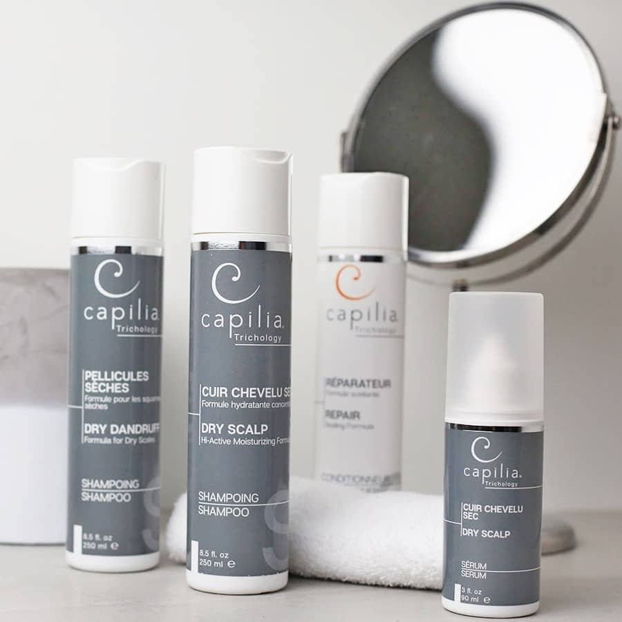 dry scalp products Capilia